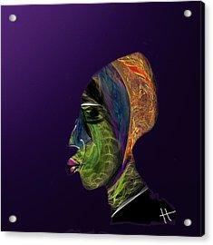 The Ka Acrylic Print by Hayrettin Karaerkek