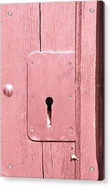The Key To Happiness Acrylic Print by Heather Watson