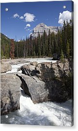 The Kicking Horse River Winds Acrylic Print by Taylor S. Kennedy