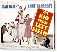 The Kid From Left Field, Dan Dailey Acrylic Print by Everett
