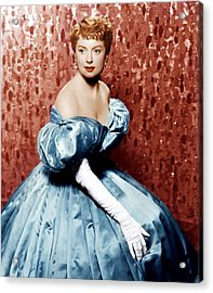 The King And I, Deborah Kerr, 1956 Acrylic Print