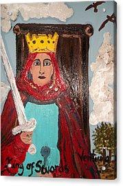 The King Of Swords Acrylic Print
