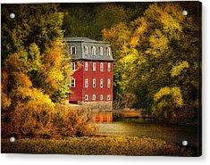 The Kingston Mill Acrylic Print