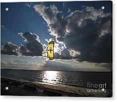 The Kite Acrylic Print by Rrrose Pix