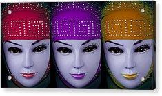 The Ladies Of Primoz Acrylic Print by Jez C Self