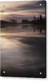 The Lake Acrylic Print by Akos Kozari