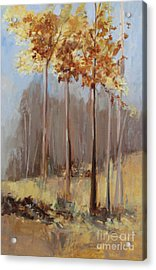 The Last Bouquet Of Autumn Acrylic Print by Sandy Lane