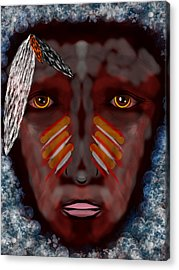 The Last Indian Dream Acrylic Print by Mathieu Lalonde