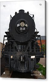The Last Iron Horse Loc 1518 In Paducah Ky Acrylic Print by Susanne Van Hulst