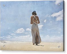 The Letter Acrylic Print by Paul Grand