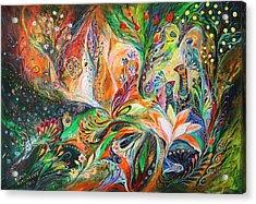 The Light And Wind Acrylic Print by Elena Kotliarker