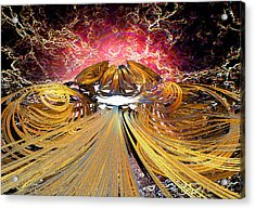 The Light At The End Of The Tunnel Acrylic Print by Michael Durst