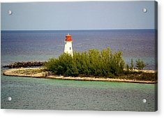The Light House Acrylic Print by Paulette Thomas