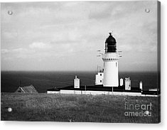 The Lighthouse At Dunnet Head Most Northerly Point Of Mainland Britain Scotland Uk Acrylic Print by Joe Fox