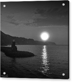 The Lighthouse Acrylic Print by Gianluca Sommella