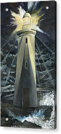 The Lighthouse Acrylic Print by Trister Hosang