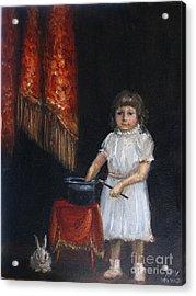 The Little Magician Acrylic Print by Stella Violano