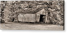 The Long Barn Acrylic Print by JC Findley