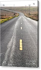 The Long Road Home . 7d9898 Acrylic Print by Wingsdomain Art and Photography
