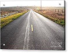 The Long Road Home . 7d9903 Acrylic Print by Wingsdomain Art and Photography