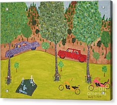 The Long Vacation Acrylic Print by Gregory Davis