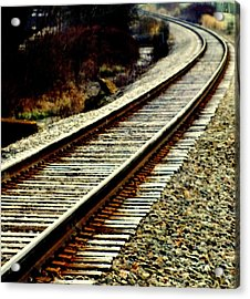 The Long Way Home Acrylic Print by Karen Wiles