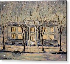 The Long Winter Acrylic Print by Daniel W Green