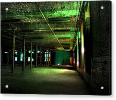 The Loray Firestone Mill  Acrylic Print by Tammy Cantrell
