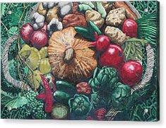 The Lord's Abundance Acrylic Print by Collin Edler