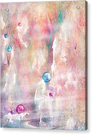 The Lost Marbles Acrylic Print by Rachel Christine Nowicki