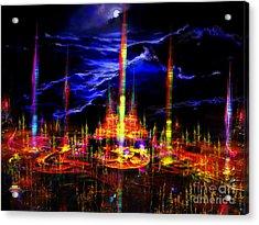 The Lost World Acrylic Print by Vidka Art