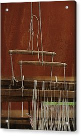 The Lot Of The Weaver Acrylic Print