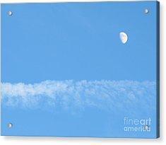 The Magic Of The Moon Acrylic Print by Valia Bradshaw