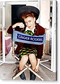 The Major And The Minor, Ginger Rogers Acrylic Print by Everett