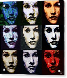 The Many Faces Of Eve Acrylic Print by Gun Legler