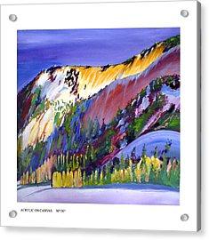 The March Light Acrylic Print