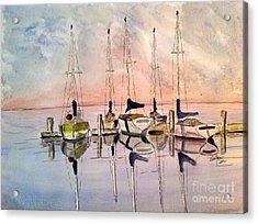 The Marina Acrylic Print