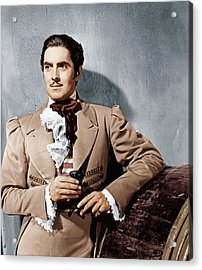 The Mark Of Zorro, Tyrone Power, 1940 Acrylic Print