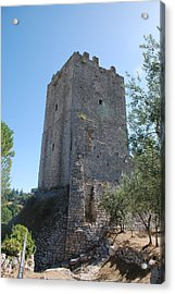 The Medieval Tower Acrylic Print by Dany Lison
