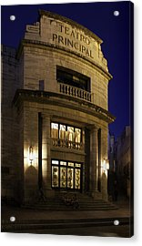 Acrylic Print featuring the photograph The Meeting Place by Lynn Palmer