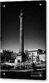The Melville Monument St Andrew Square Edinburgh Scotland Uk United Kingdom Acrylic Print by Joe Fox