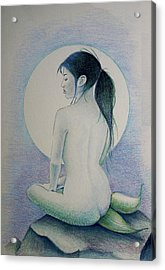 The Mermaid 1 Acrylic Print