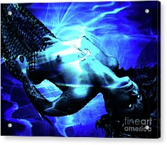 The Mermaid Acrylic Print by The DigArtisT