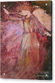 The Messenger Acrylic Print by Deborah Nell