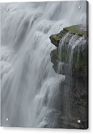 The Middle Falls I Acrylic Print by Neal Blizzard