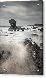 The Milky Sea Acrylic Print by Andy Astbury