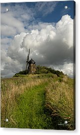 The Mill At Aarup Acrylic Print by Robert Lacy