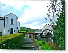 Acrylic Print featuring the photograph The Mill by Charlie and Norma Brock