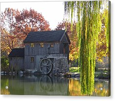 Acrylic Print featuring the photograph The Millhouse by Julia Wilcox