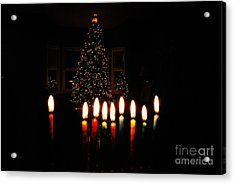 Acrylic Print featuring the photograph The Miracle Of Christmas by Linda Mesibov